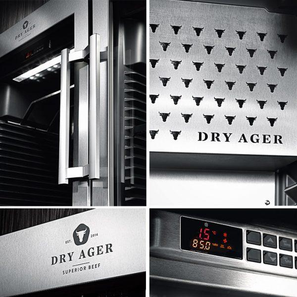 Dry Ager szafy - design