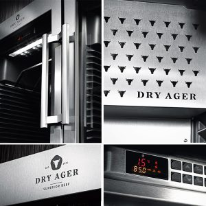Dry Ager szafy - design