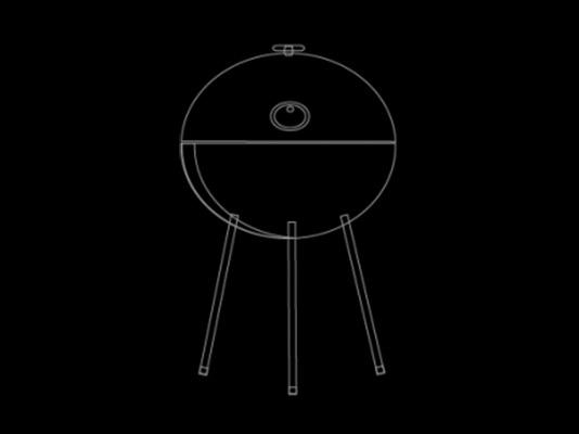 tradycyjny grill